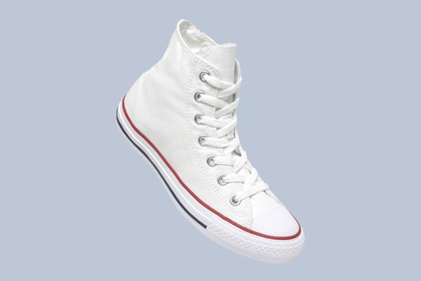 Sneaker Converse Chuck high in weiß zum Gestalten und Bedrucken digital mit Kundenmotiv