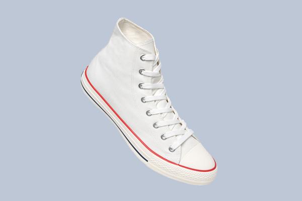 Sneaker für Firmen Simple High zum Personalisieren im Digitaldruck